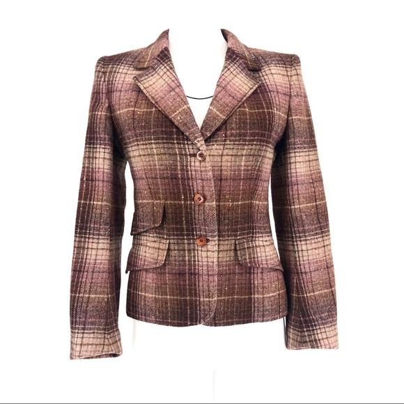 Jaeger London Jackets & Blazers - Jaeger London plaid check blazer jacket 🇬🇧